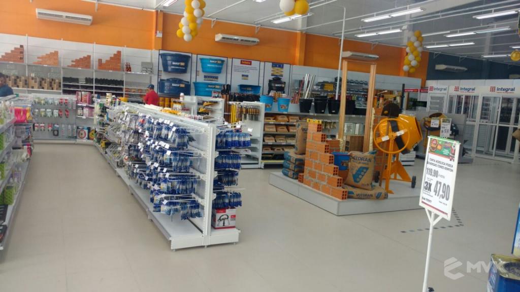 Breithaup home center loja de material de construção. Projeto e execução MVK Gôndolas e Displays para lojas, supermercados, farmácias, pet shops e outros (1)