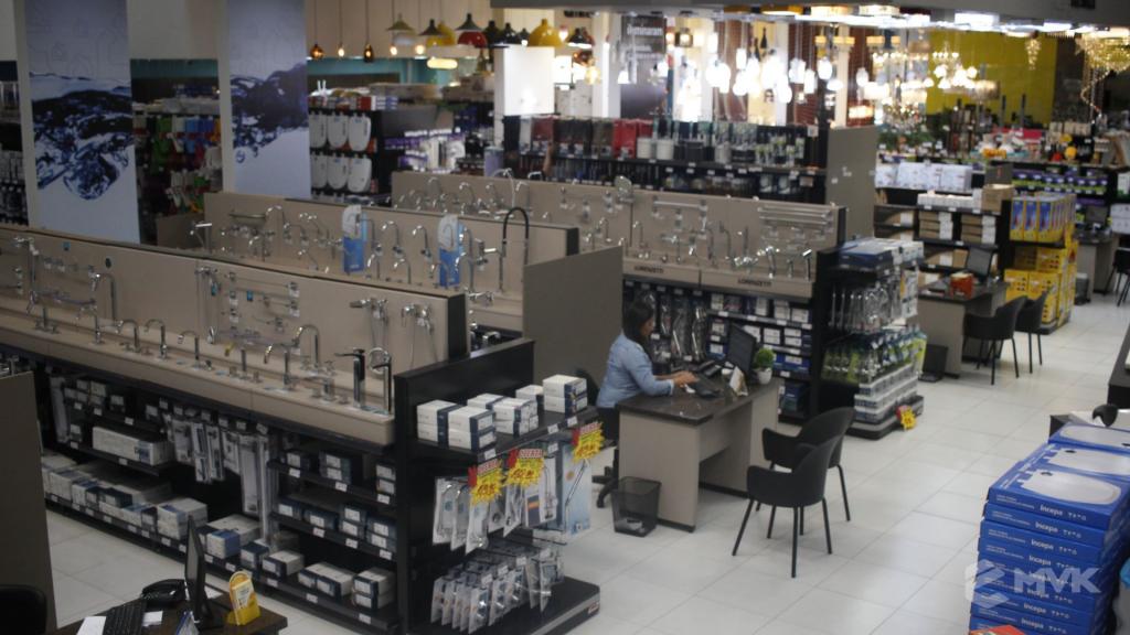 Cardil loja de materiais de construção em Lins SP. Expositor, gôndola, checkout, display, prateleira, estante. Projeto e execução de MVK www.mvk.com.br (3)