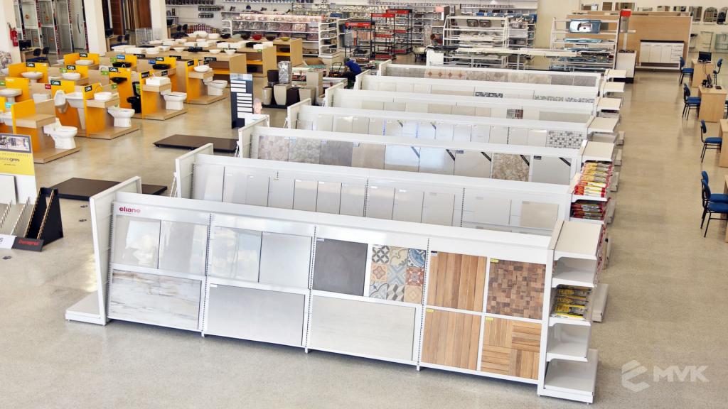Casa Campos acabamentos e material de contrução. Projeto e execução MVK Gôndolas e Displays (2)