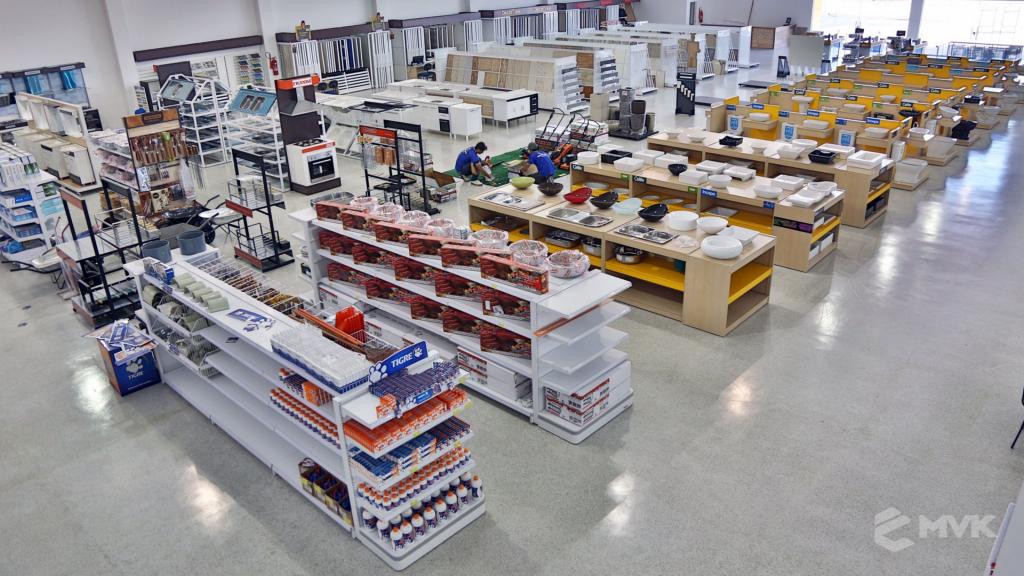 Casa Campos acabamentos e material de contrução. Projeto e execução MVK Gôndolas e Displays (56)