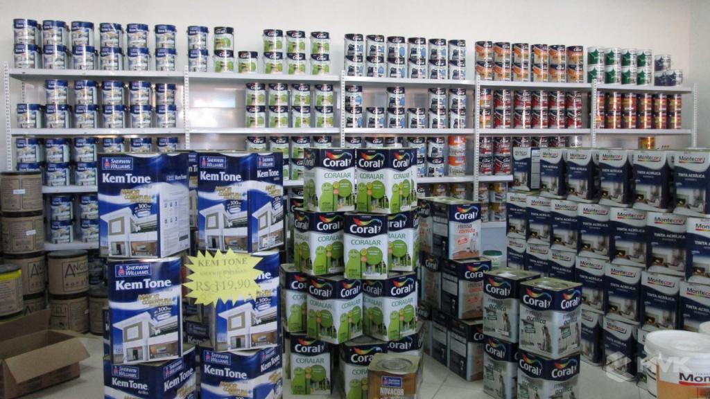 Loja AM Materiais de Construção em Arujá - SP. Casa Tua Revestimentos Finos. Projeto e execução de MVK Gôndolas e Displays (7)