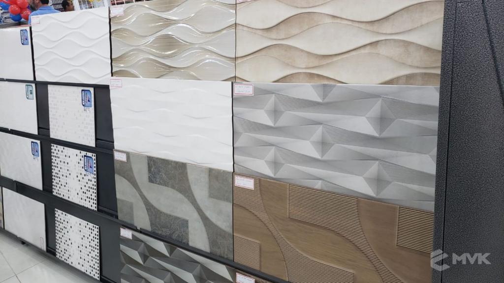 Loja de Material de Construção Beira Rio em Sinop MT. Home Center. Projeto executado por MVK Gôndolas e Displays. Expositor para Porcelanato e Cerâmicas (9)