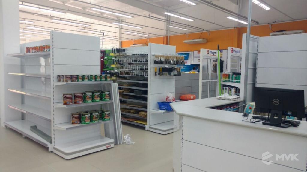 Loja de Material de Construção e Home Center Breithaup em Joinvile Santa Catarina. Gôndolas, displays, balcões e expositores MVK (5)