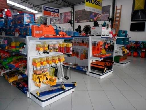 Gôndolas para loja de material de construção preço